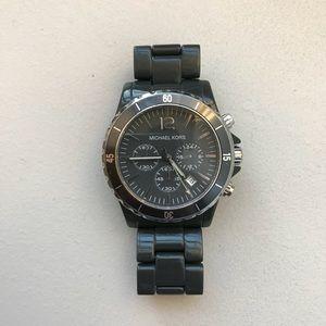 Michael Kors chronograph oversized watch - gray